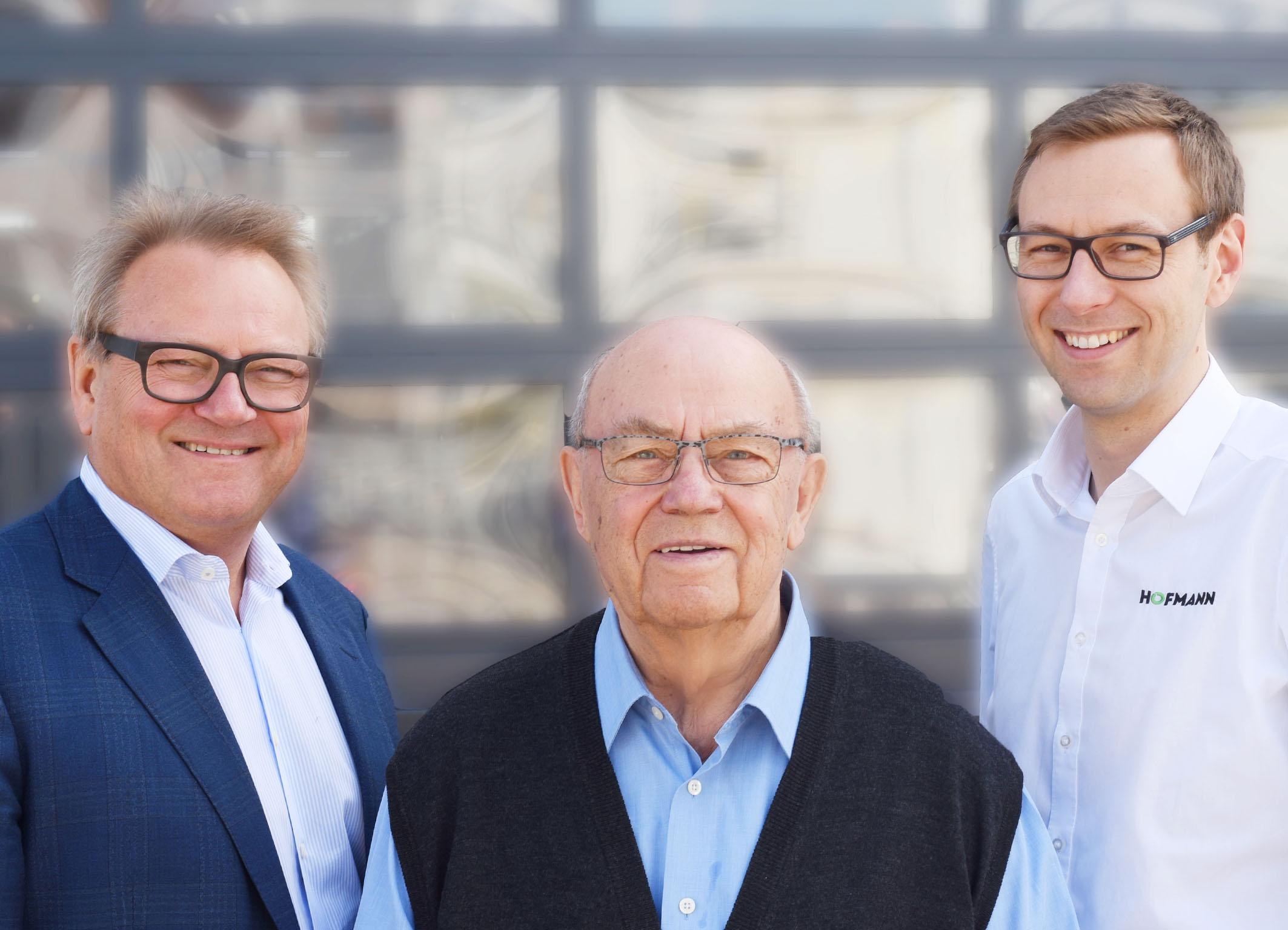 Günter, Siegfried und Stefan Hofmann