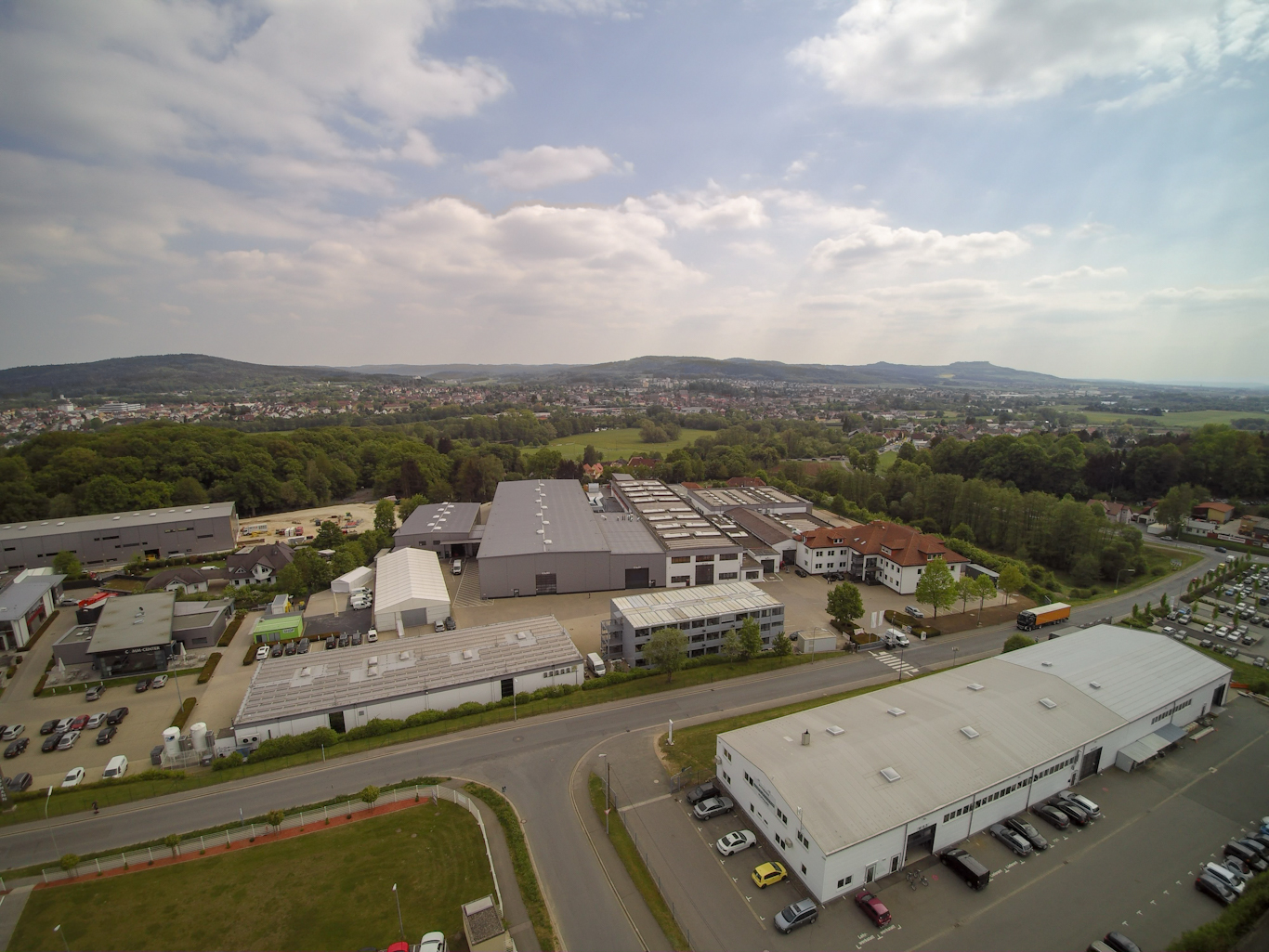Luftbild aus dem Jahr 2018